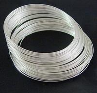 Memory wire staal voor armbanden zilver