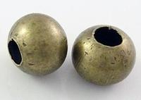 Rond kraaltje ijzer brons