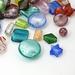Zilverfolie Glaskralen handgemaakt